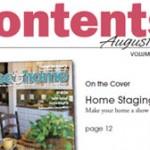 Staging Diva in Michiana House & Home Magazine
